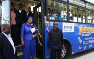 Golden Dragon BRT Buses Bring Tremendous Convenience to People in Tanzania
