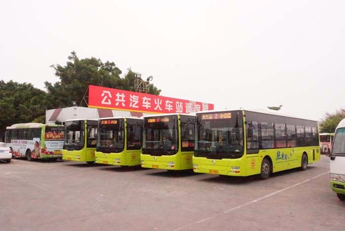 30 Units Golden Dragon Electric Buses Start Official Operation in Shantou