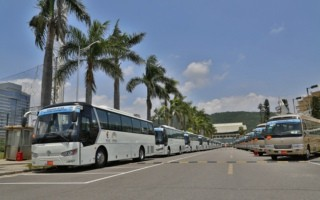Golden Dragon Buses Serve BRICS Summit