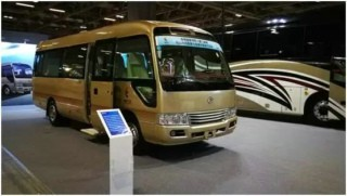 Golden Dragon Attended the 7th China (Macao) Automobile Exhibition