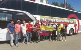 Golden Dragon Buses Serve 2018 FIFA World Cup in Russia