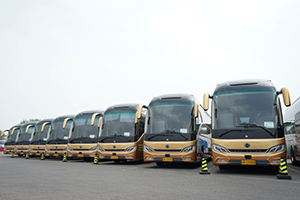 Golden Dragon Navigator Coaches to Serve Belt Road Forum for International Cooperation