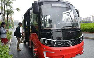 Golden Dragon Rolls Out 5G Autonomous Driving Bus Services