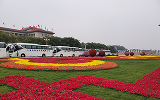 Golden Dragon Buses Serve China's Two Sessions